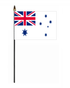 Australian Navy Ensign Hand Flag - Small.